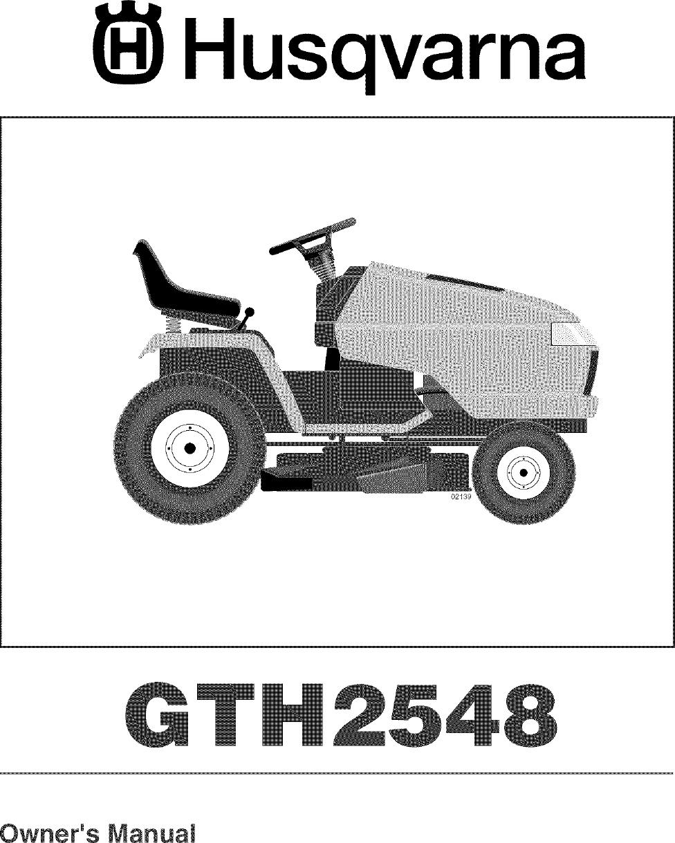 Gth Husqvarna Wiring Diagram on husqvarna 2654 problems, husqvarna chainsaw parts, husqvarna 2548 gth manual,