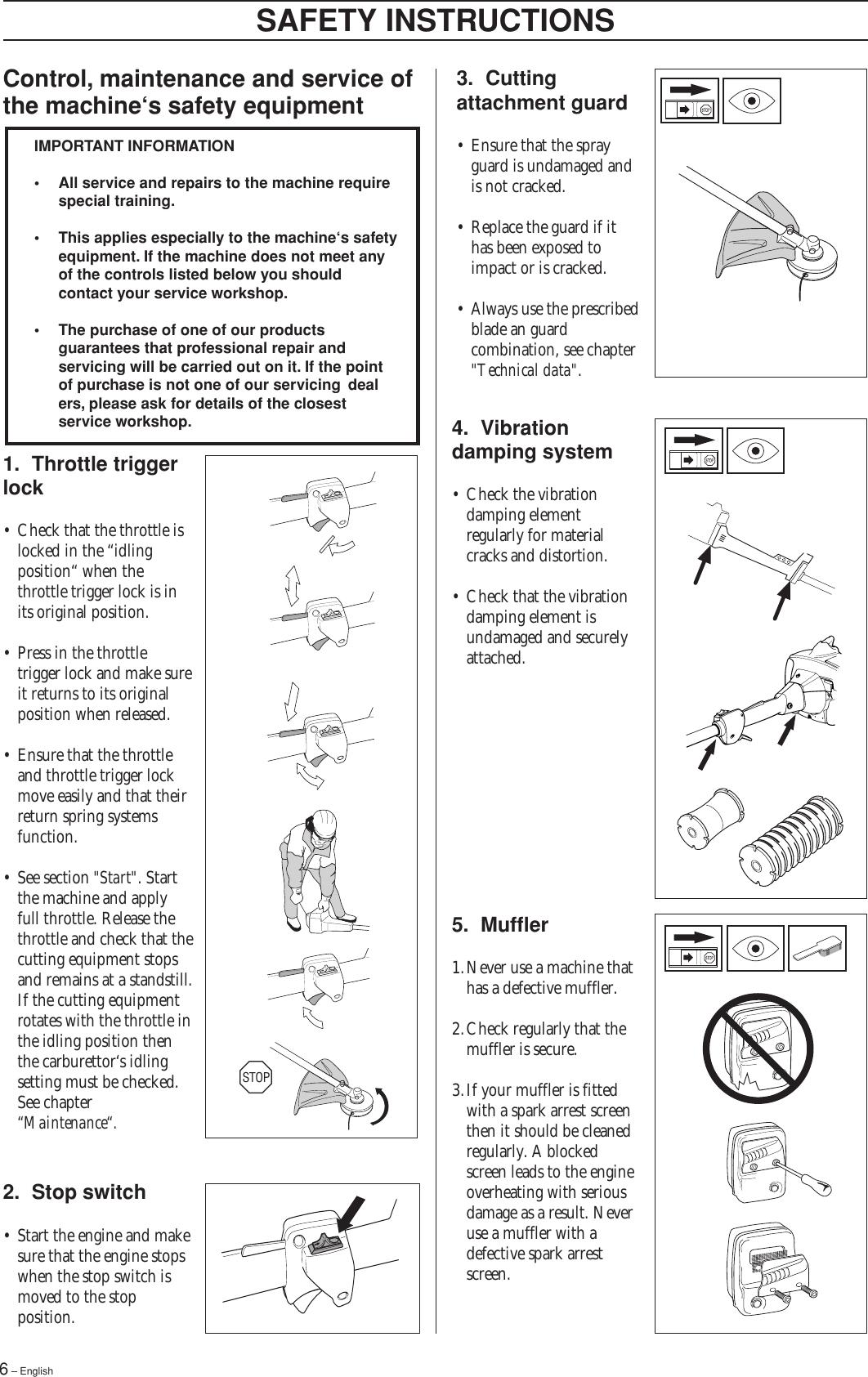 Husqvarna 322 L Users Manual OM, L, 323 325 C, C X series
