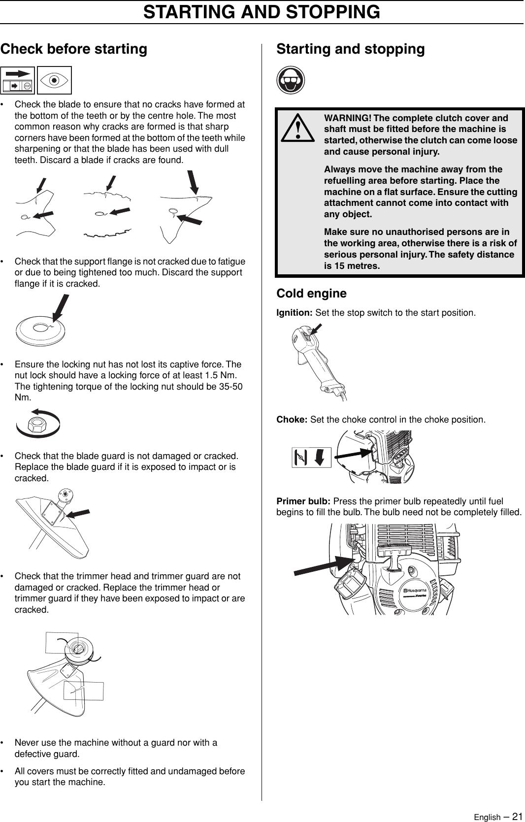 Husqvarna 324Rx Series Users Manual OM, 324 R X series, EPA