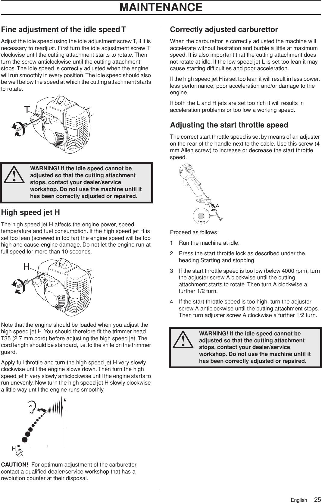 Husqvarna 333R Series Users Manual OM, 333 R, 335 R X series