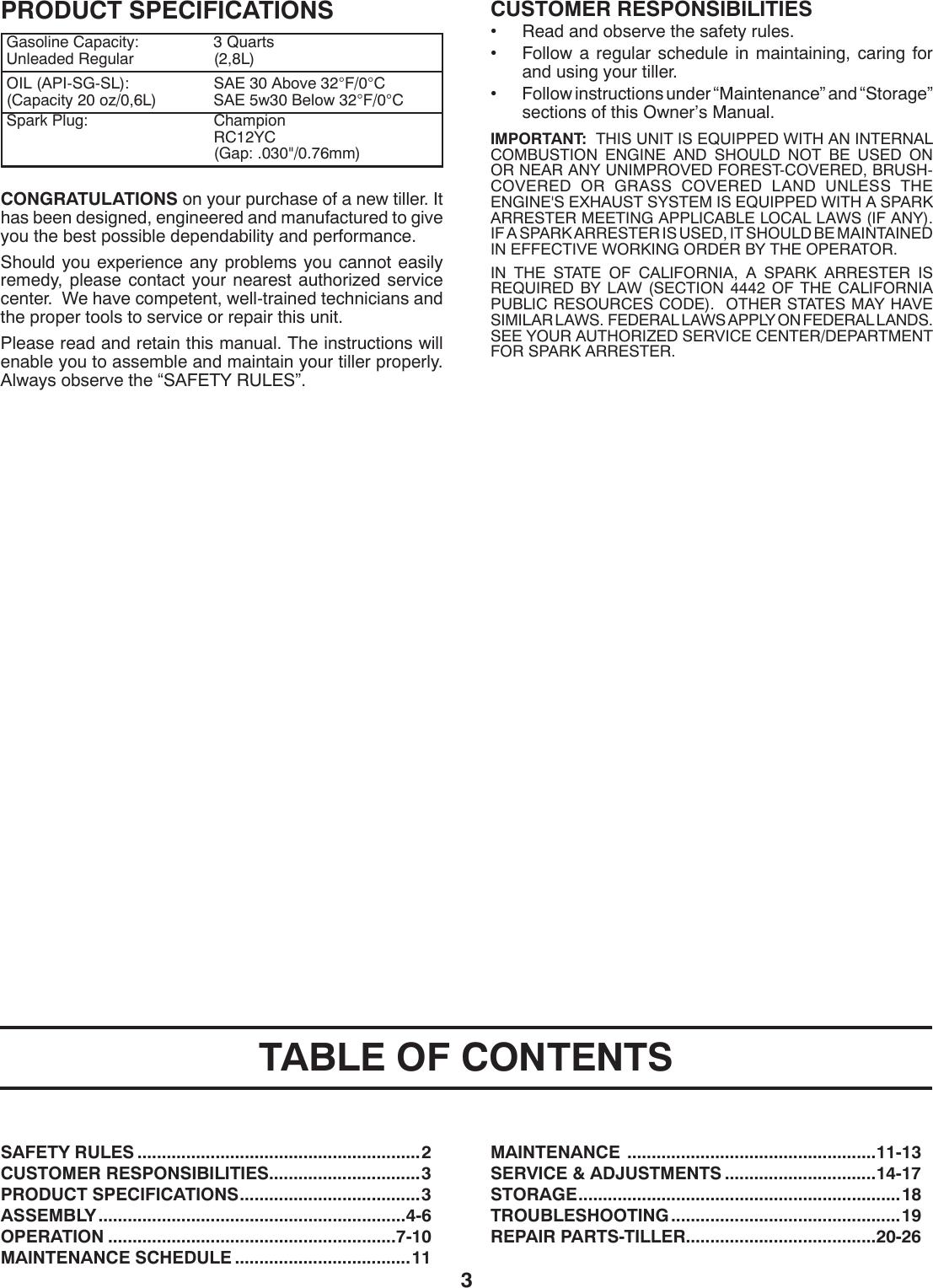 Husqvarna Crt1350Ls Users Manual OM, CRT1350LS, 2009 12