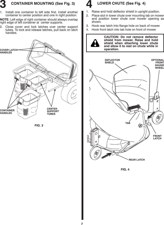 Husqvarna G483St 96073002500 2008 12 Bagger Owner S Manual OM ...