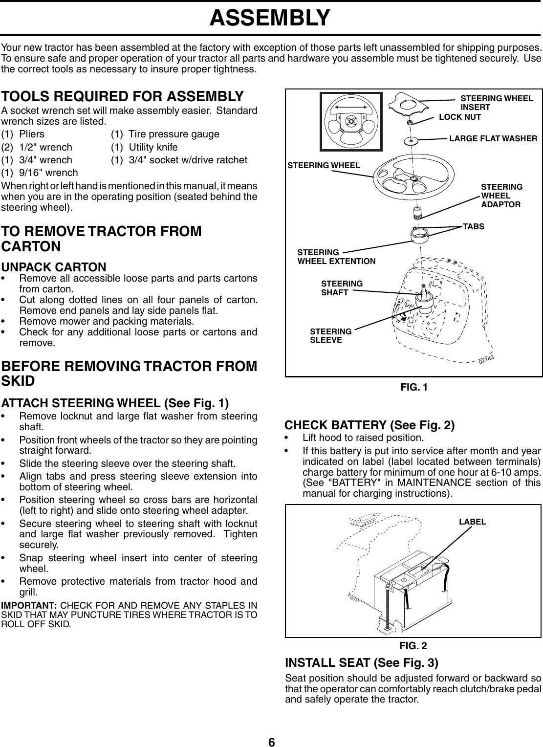 Husqvarna Gth2254Xp Users Manual OM, GTH 2254 XP A
