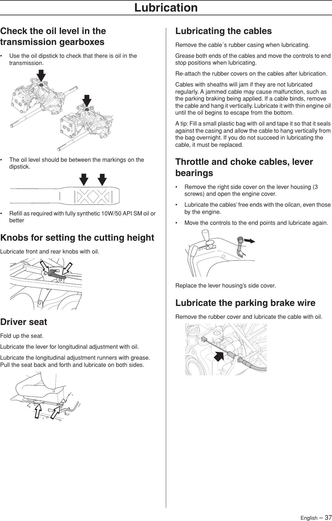 Husqvarna P 520D Users Manual OM, 520 D, 525 966607301