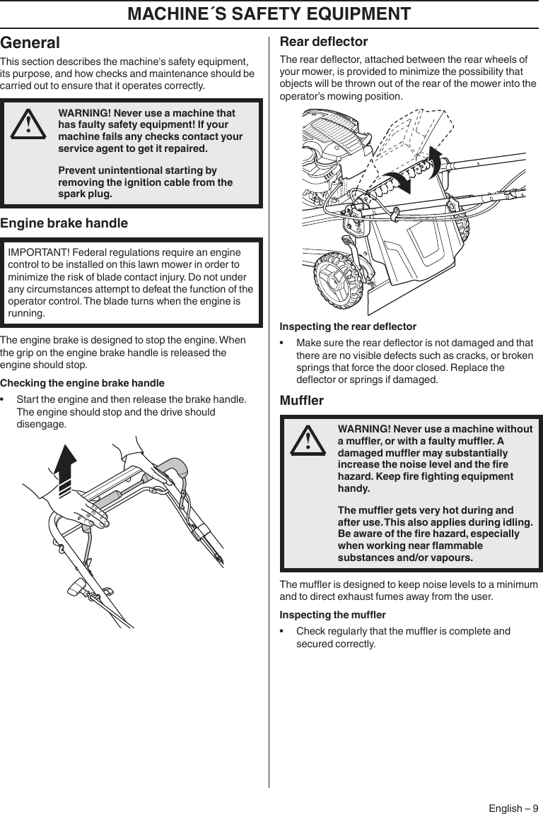 Husqvarna LC221A 96145003500 User Manual LAWN MOWER Manuals And