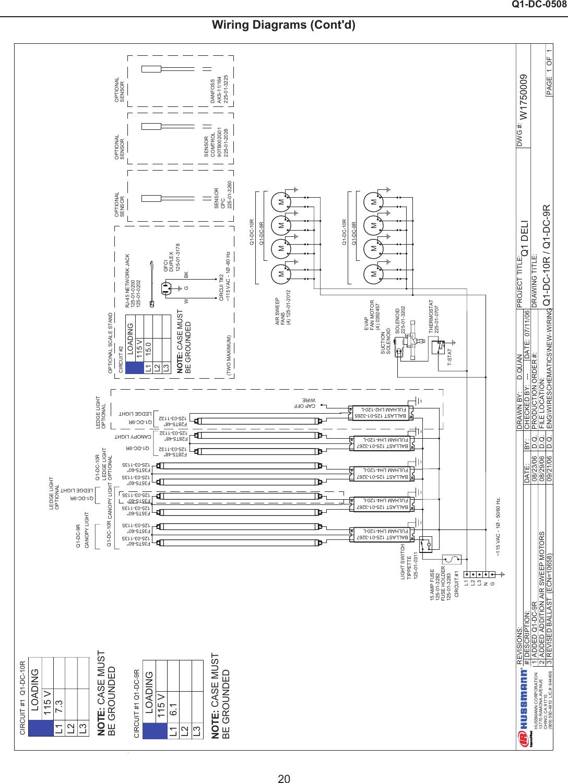 Hussman Reach In Freezer Wiring Diagram - Wiring Diagram K10 on