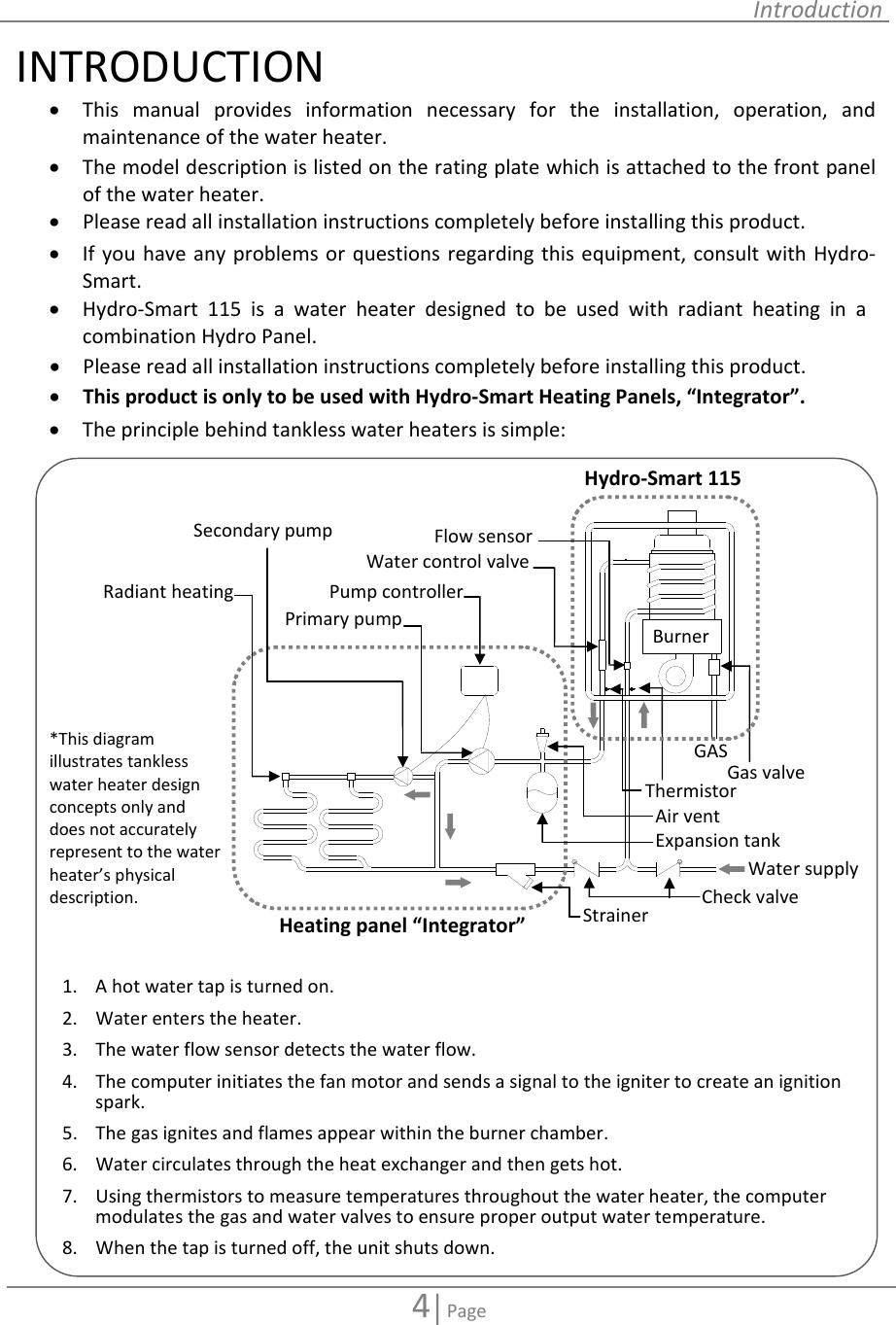 Hydro Smart 115 Installation Manual ManualsLib Makes It Easy ... on