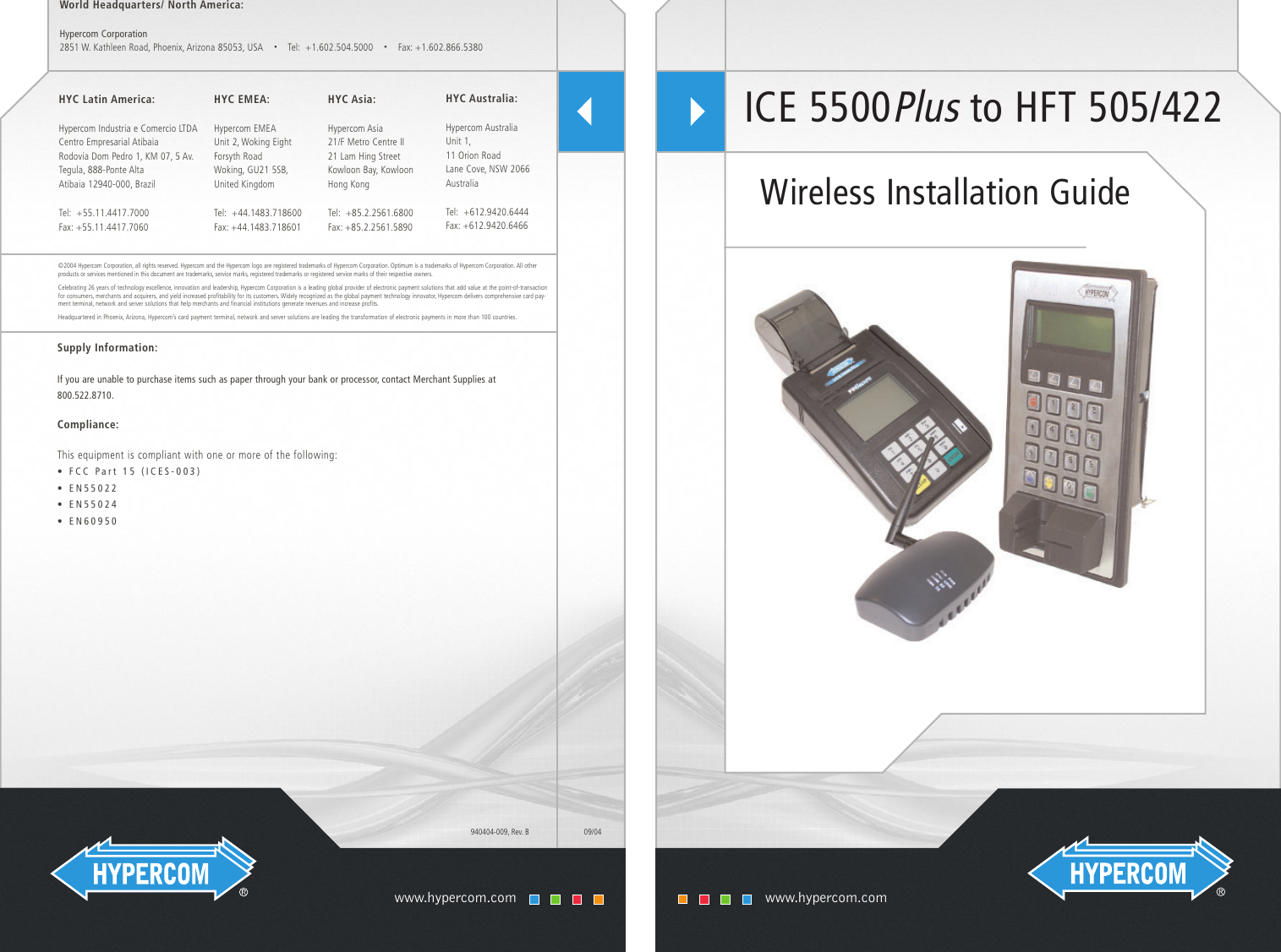 hypercom terminal hft 505 422 users manual ice 5500plus to 505 422 rh usermanual wiki New Balance Manuals User Guide Icon