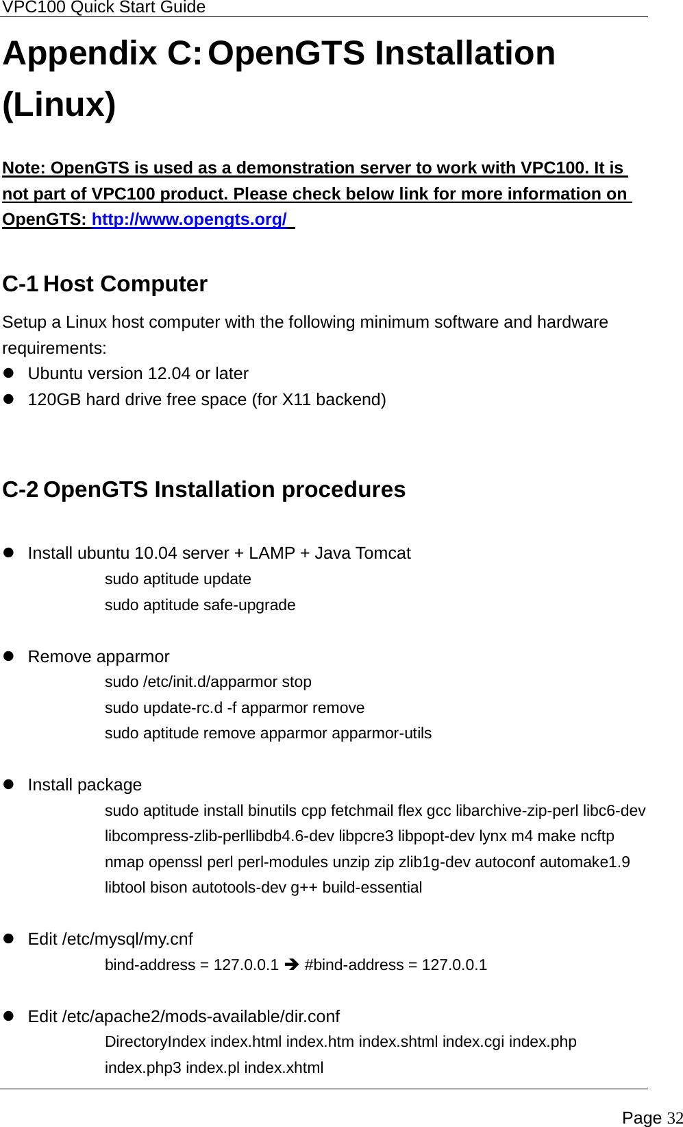 IC Nexus VPC100120SBC18 In-Vehicle Computer User Manual