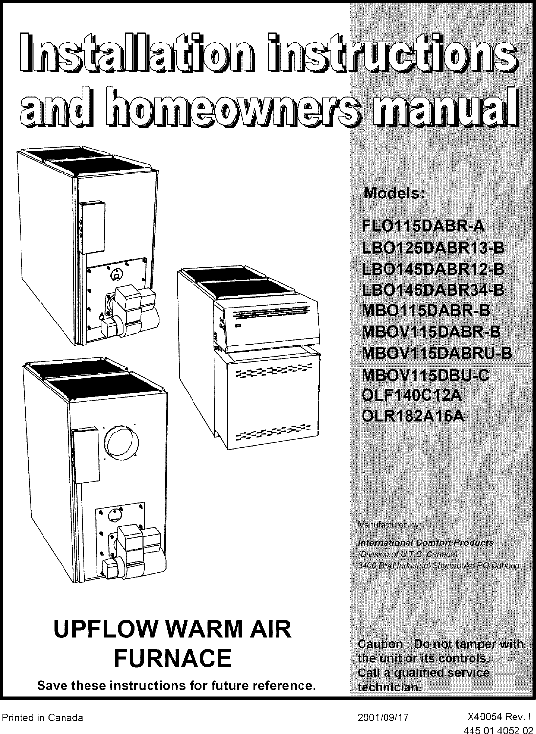 Icp Oil Furnace Wiring Diagrams Online Schematics Diagram Hot Air Heater Manual L0502544 Old Ducane