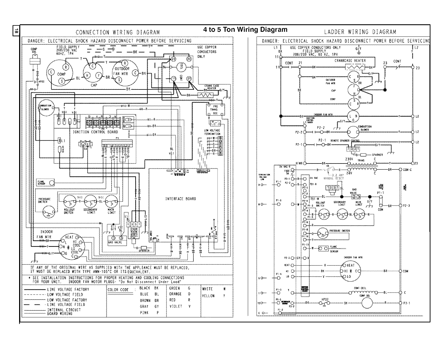 Icp Package Unitsboth Units Combined Manual L0611130 Wiring Diagram E Connection