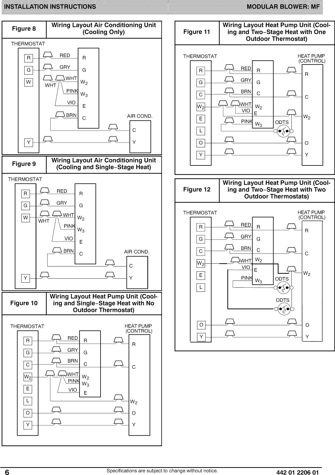 page 6 of 12 - icp air handler (indoor blower&evap) manual l0909283