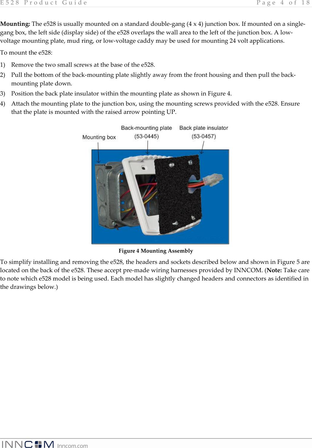 Electrical Wiring 4 Gang Box Manual Guide