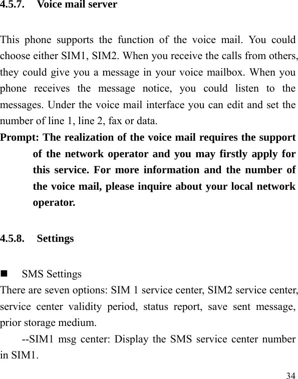 IPRO TECHNOLOGY IPROMAGIC GSM Mobile Phone User Manual 8 ok