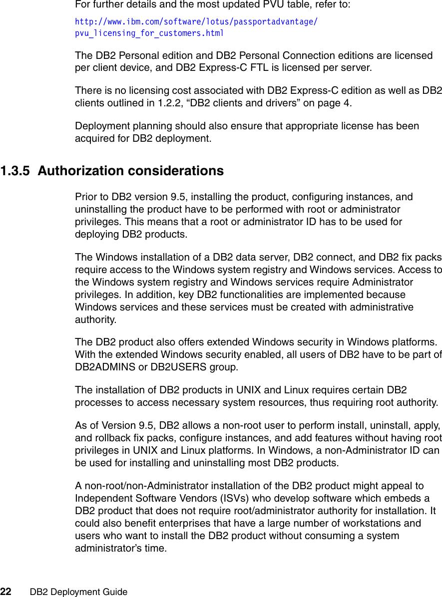 Ibm Db2 Users Manual Deployment Guide