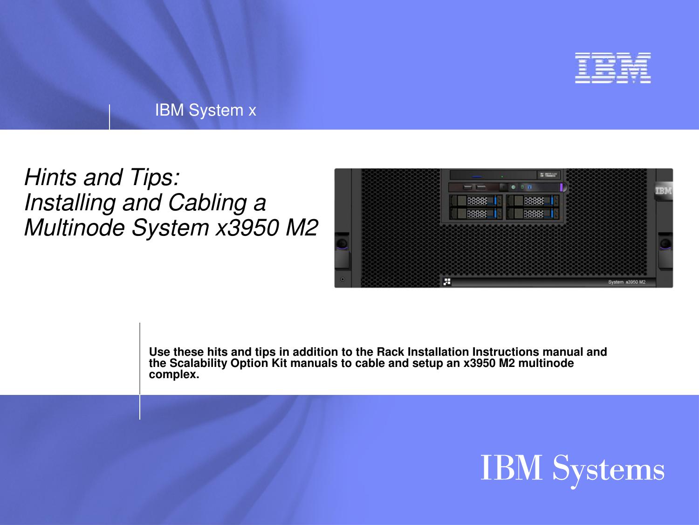 Ibm Universal Remote X3950 M2 Users Manual Microsoft M2_multi ...