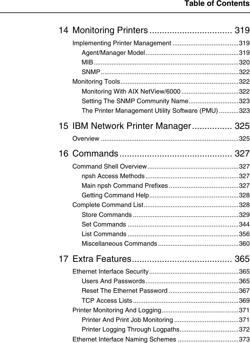 Ibm Infoprint 6500 Users Manual
