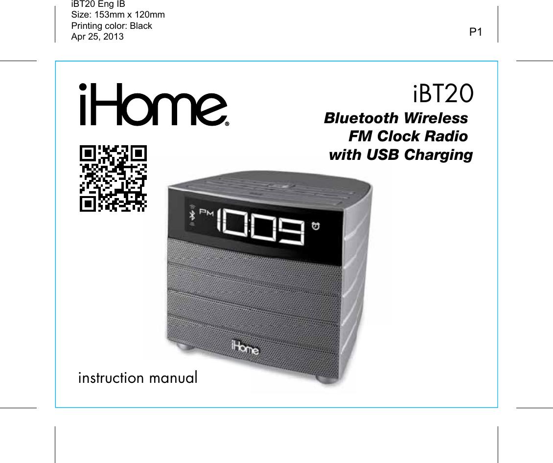 nelsonic alarm clock radio manual
