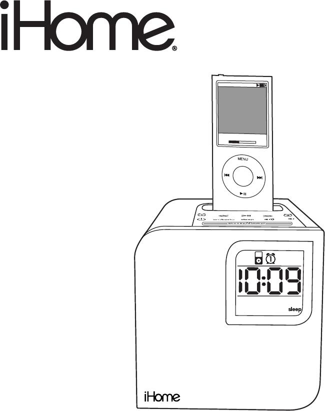 Ihome Ih120 Users Manual
