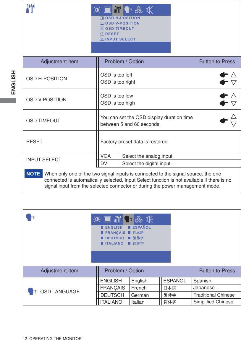 Iiyama Prolite T1931Saw 1 19 Owner S Manual