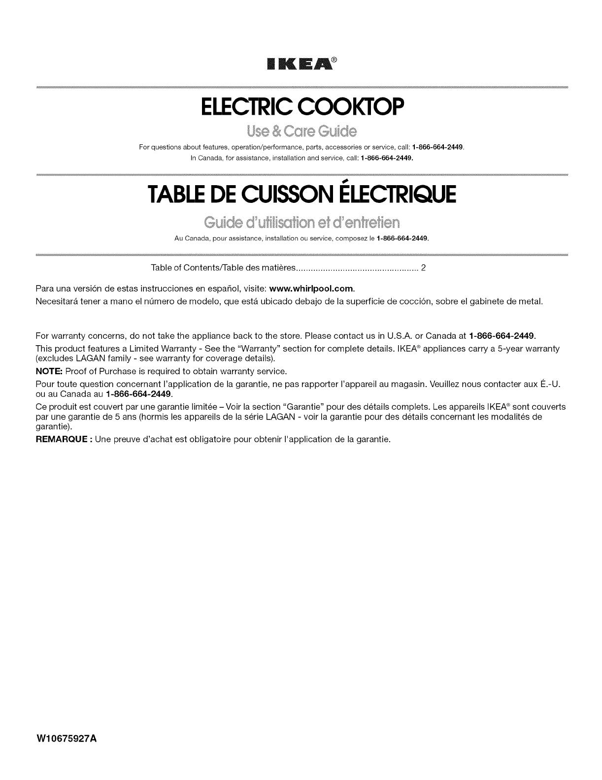 Fond De Hotte Verre Ikea ikea icr444db00 user manual electric cooktop manuals and