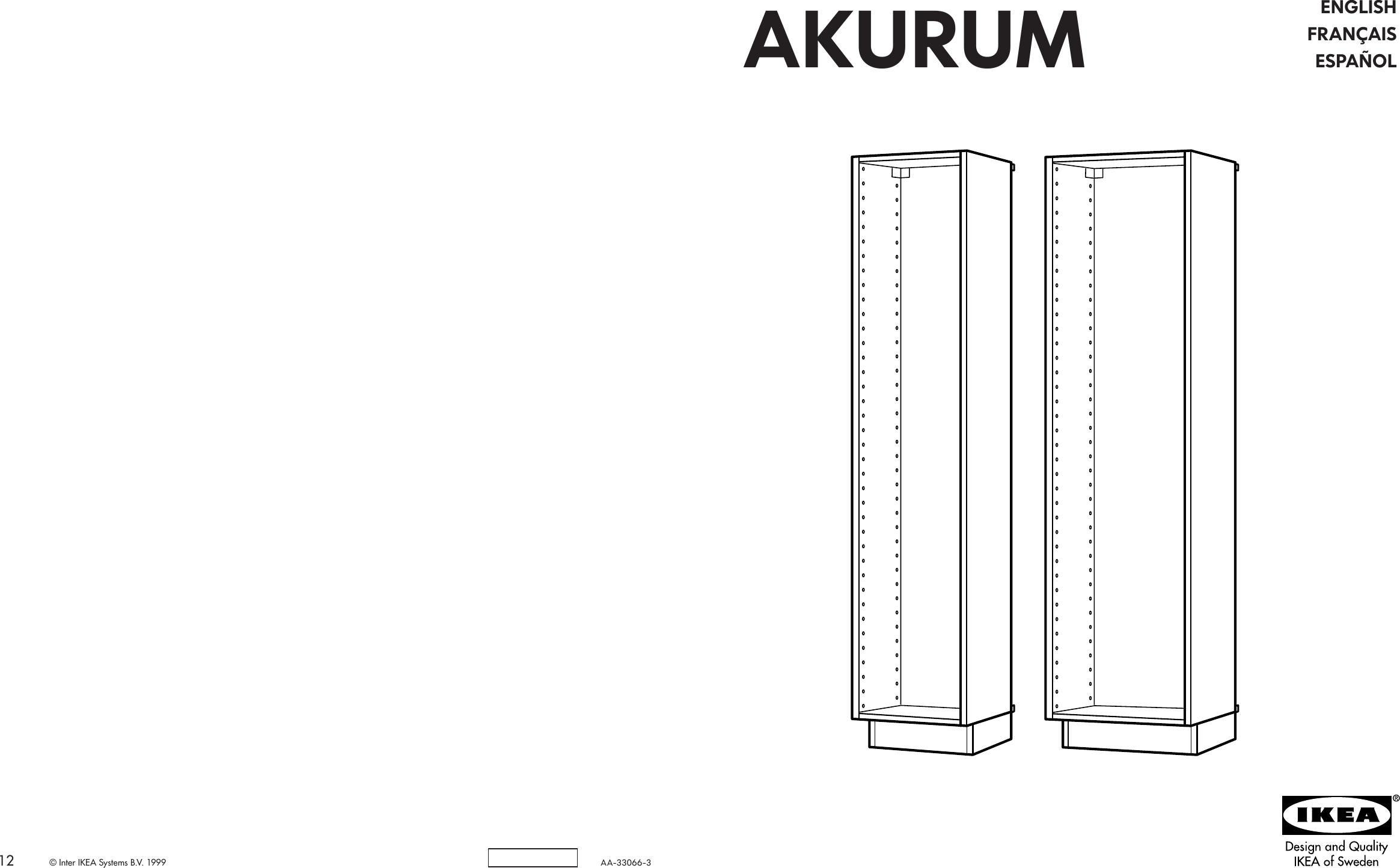 sc 1 st  UserManual.wiki & Ikea Akurum High Cabinet Frame Assembly Instruction 5