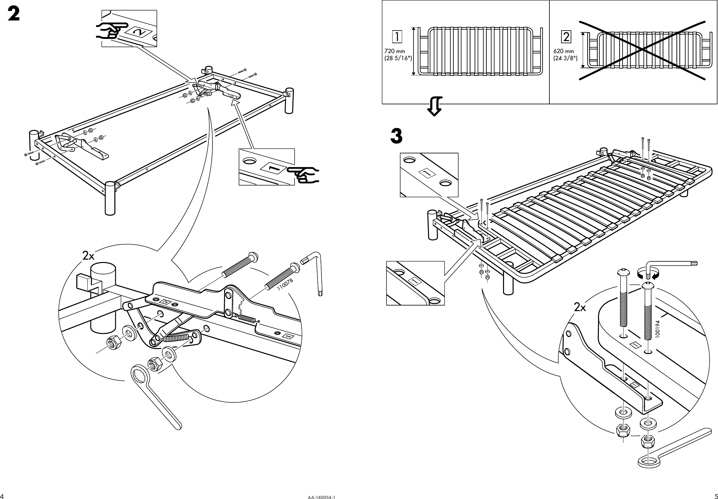 Page 4 of 4 - Ikea Ikea-Beddinge-Sofabed-Frame-Assembly-Instruction-2  Ikea-beddinge-sofabed-frame-assembly-instruction