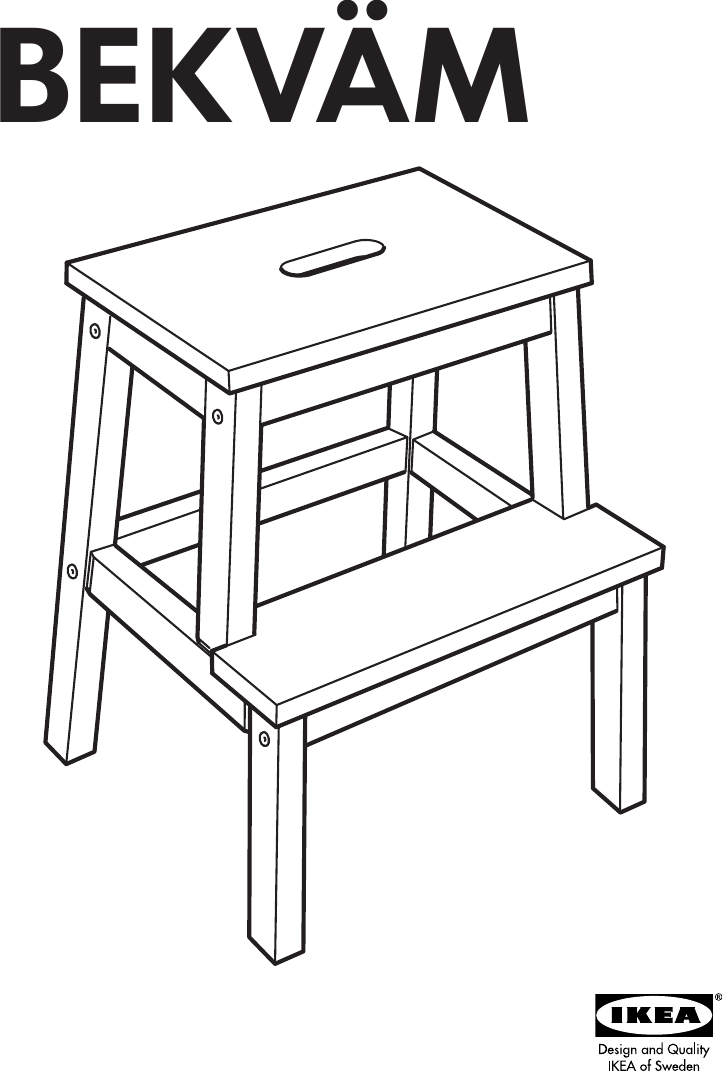Superb Ikea Bekvam Step Stool Assembly Instruction Creativecarmelina Interior Chair Design Creativecarmelinacom
