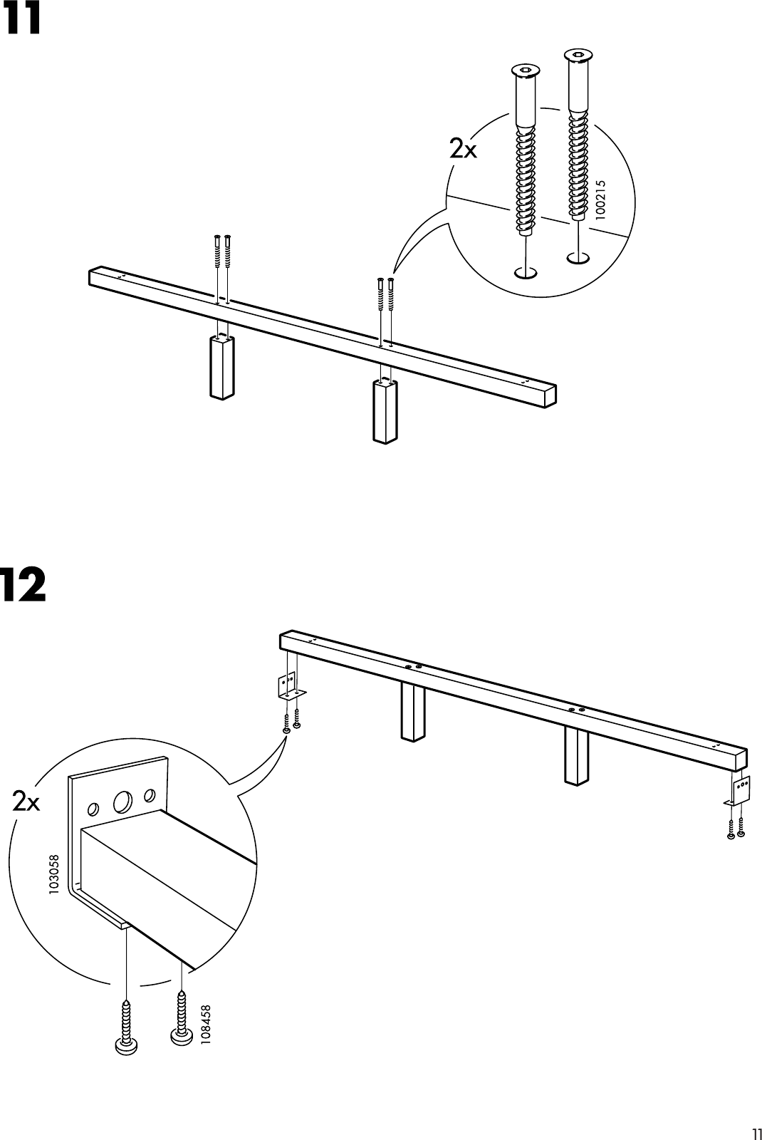 Dalselv Queen Bed Frame Instructions Webframes Org