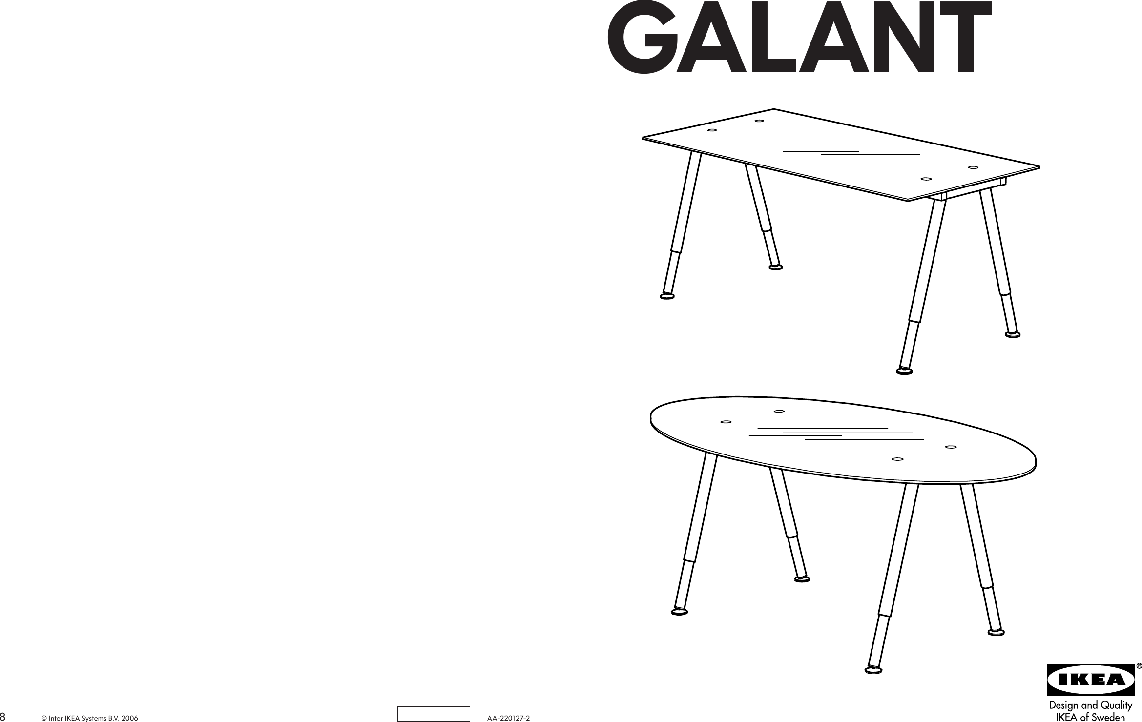 Ikea Galant Gl Table Top Embly