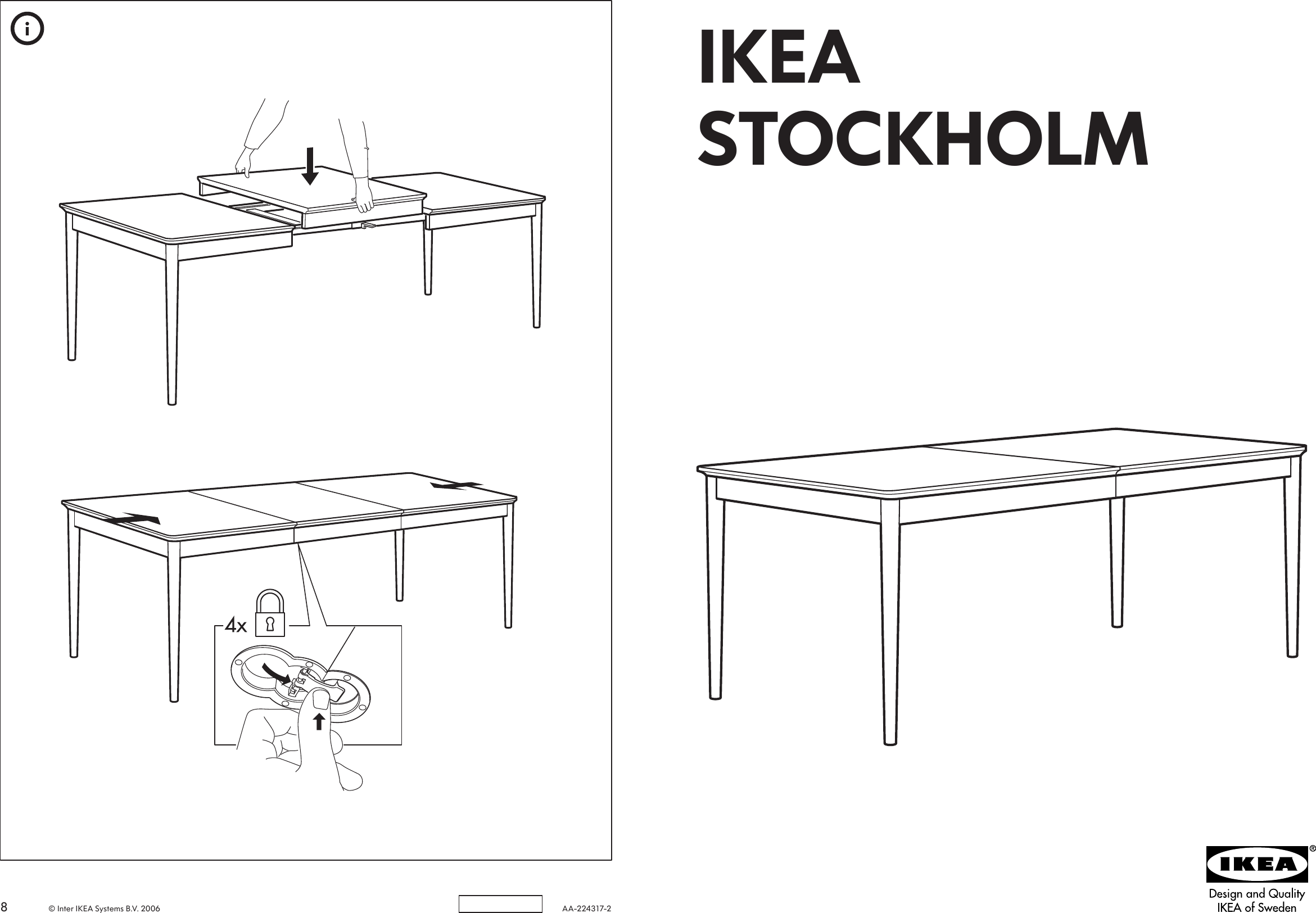Ikea Stockholm Dining Table 71 93x35 Embly Instruction