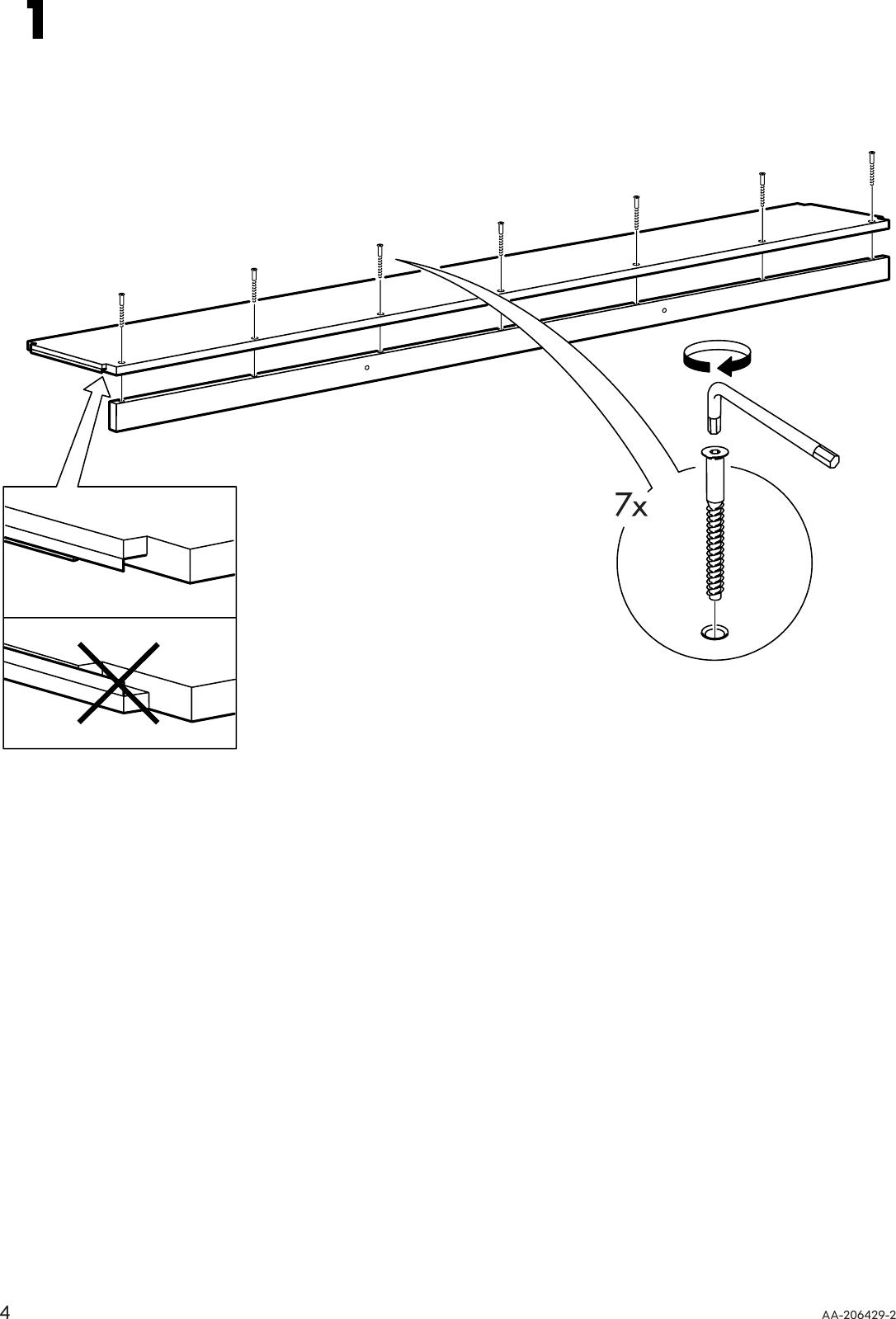 Ikea Ivar Shelf 82 5 8x11 3 4 Assembly Instruction