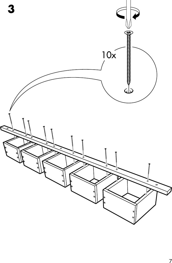 Ikea Ivar Wall Shelf W Cd Storage 10x70 Assembly Instruction