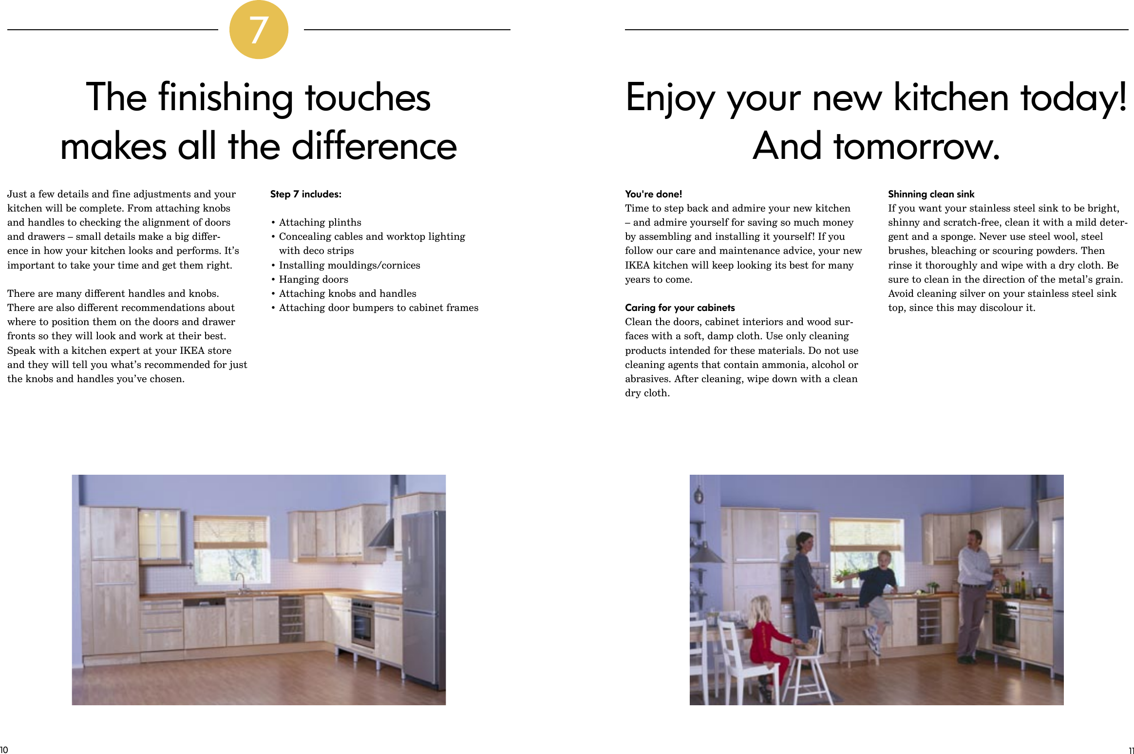 Ikea Kitchen Installation Guide Assembly Instruction Install Gb