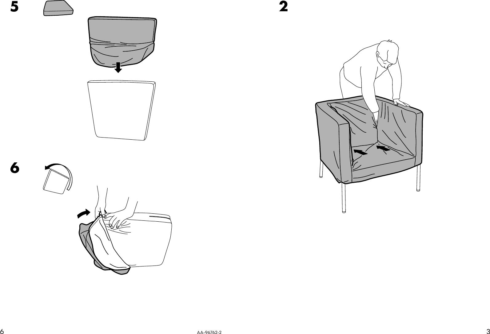Miraculous Ikea Klappsta Chair Cover Assembly Instruction Inzonedesignstudio Interior Chair Design Inzonedesignstudiocom