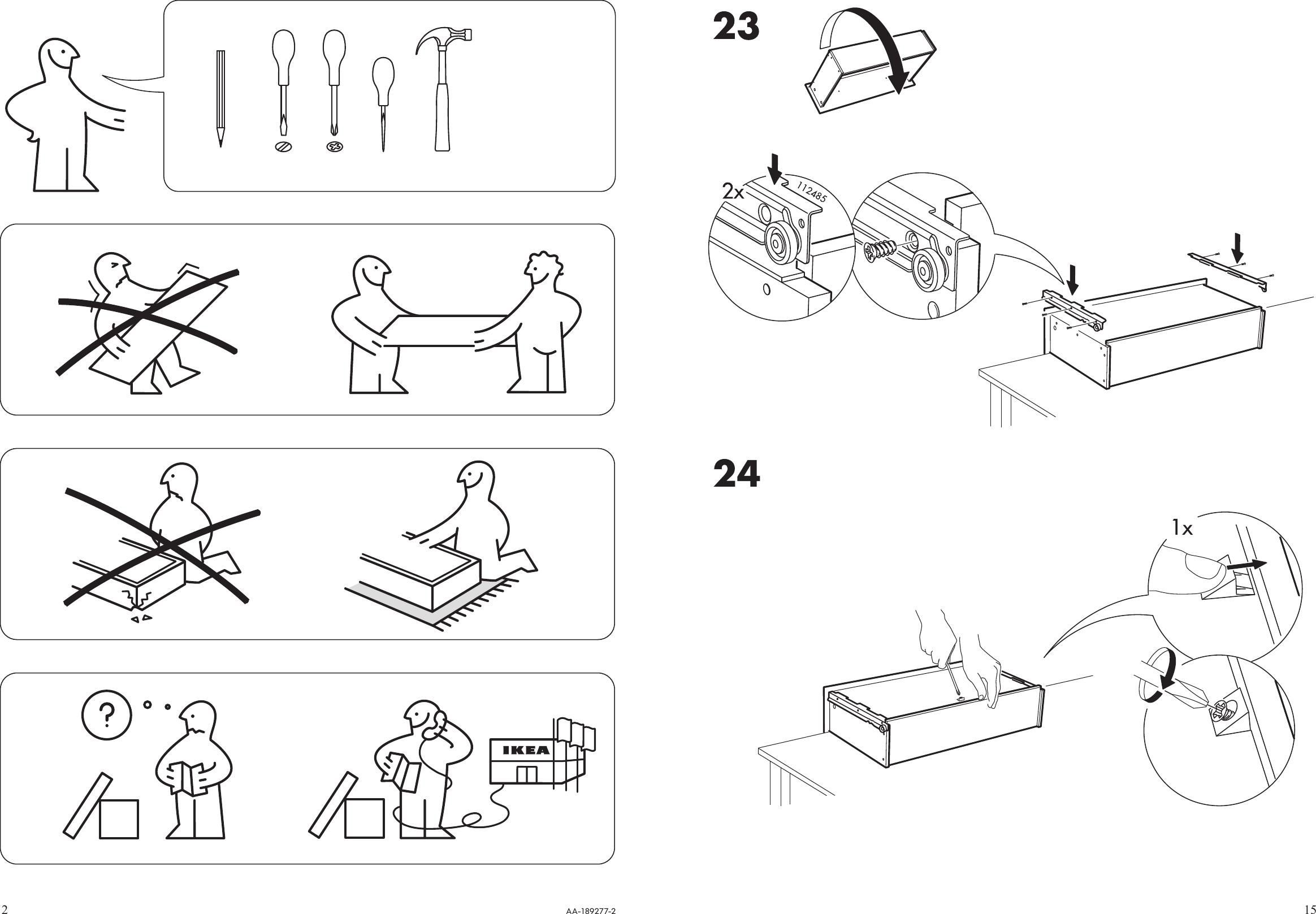 Ikea Malm Chest W Rawers 32x31