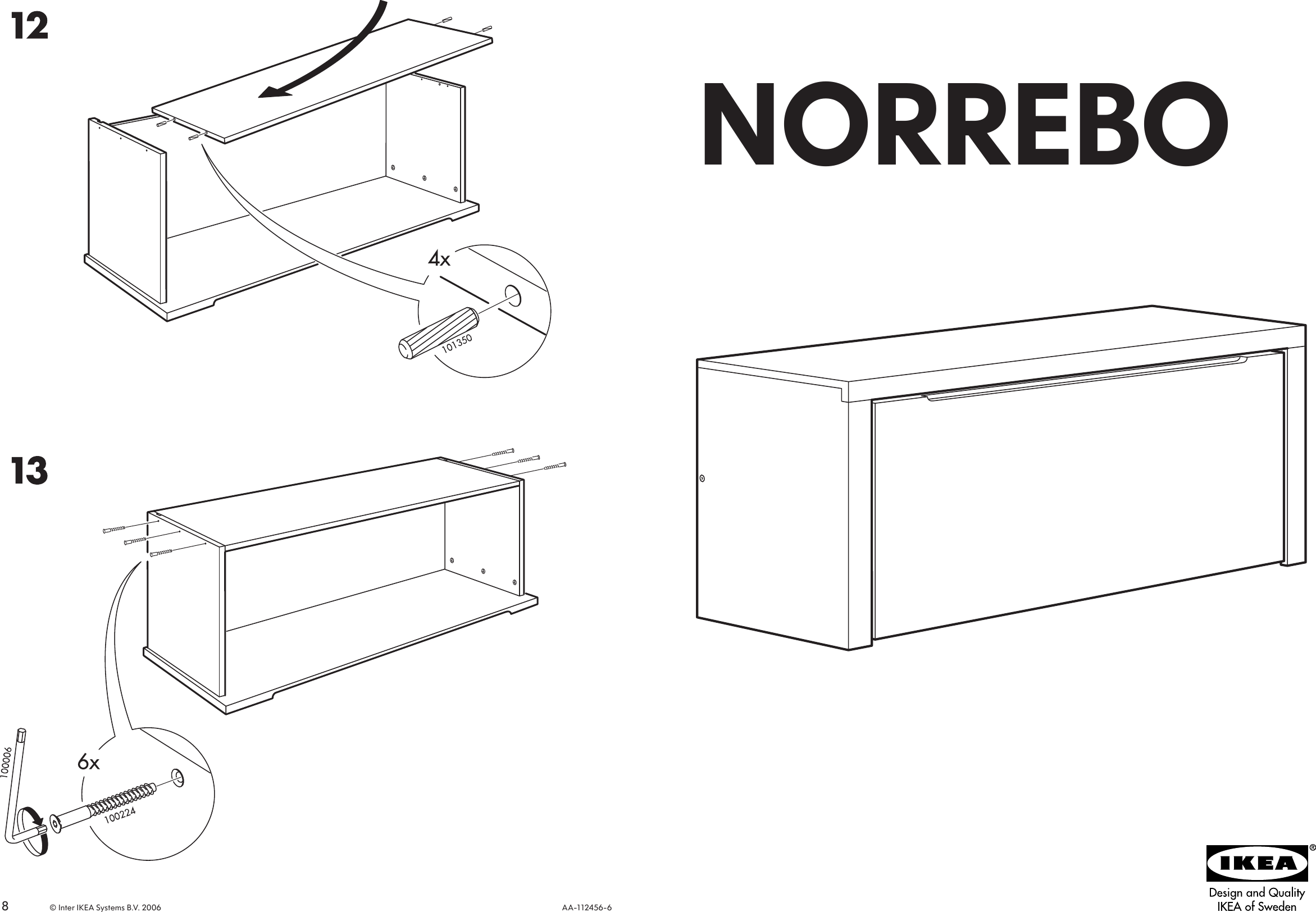Superb Ikea Norrebo Storage Bench 44X17 Assembly Instruction Ocoug Best Dining Table And Chair Ideas Images Ocougorg