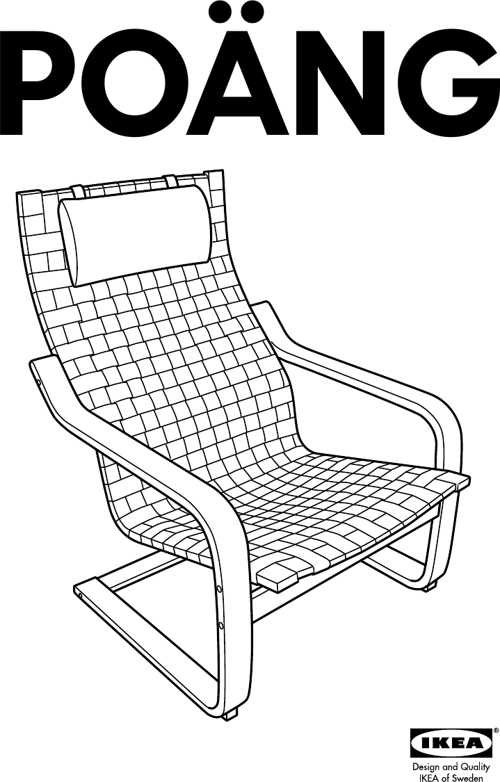 sc 1 st  UserManual.wiki & Ikea Poang Chair Frame W Webbing Assembly Instruction