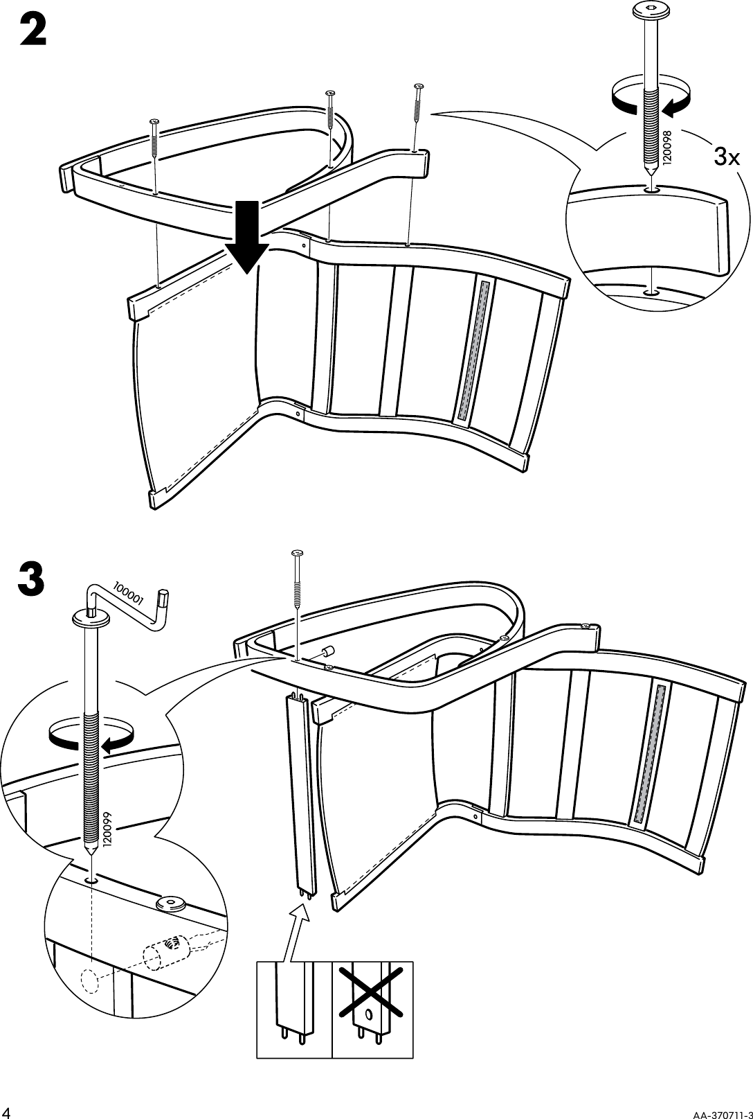 Strange Ikea Poang Rocking Chair Frame Assembly Instruction Spiritservingveterans Wood Chair Design Ideas Spiritservingveteransorg