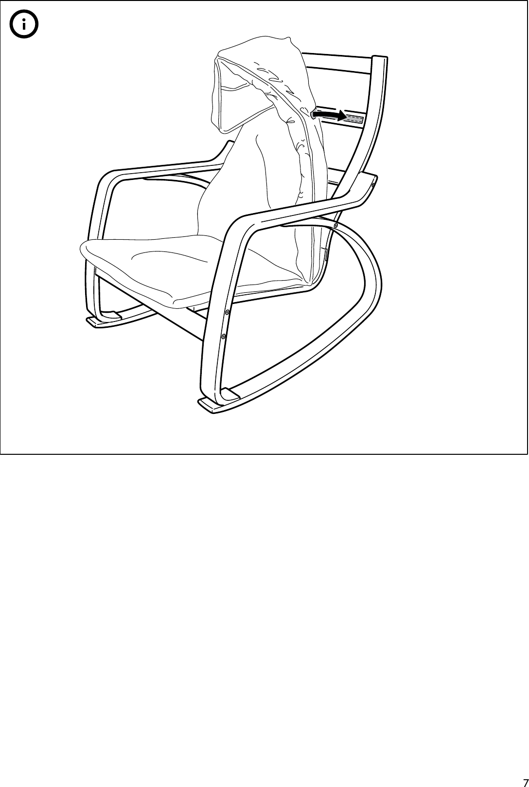 Pleasant Ikea Poang Rocking Chair Frame Assembly Instruction Spiritservingveterans Wood Chair Design Ideas Spiritservingveteransorg