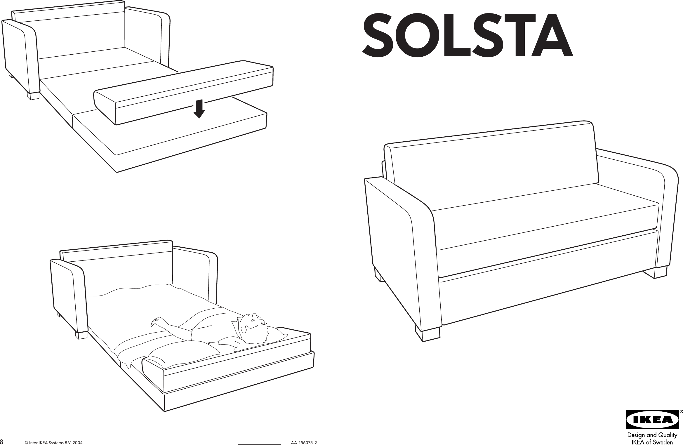 Prime Ikea Solsta Sofa Bed Assembly Instruction Creativecarmelina Interior Chair Design Creativecarmelinacom