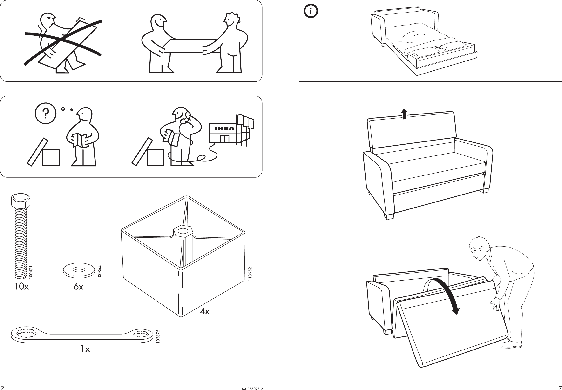ikea lycksele assembly instructions