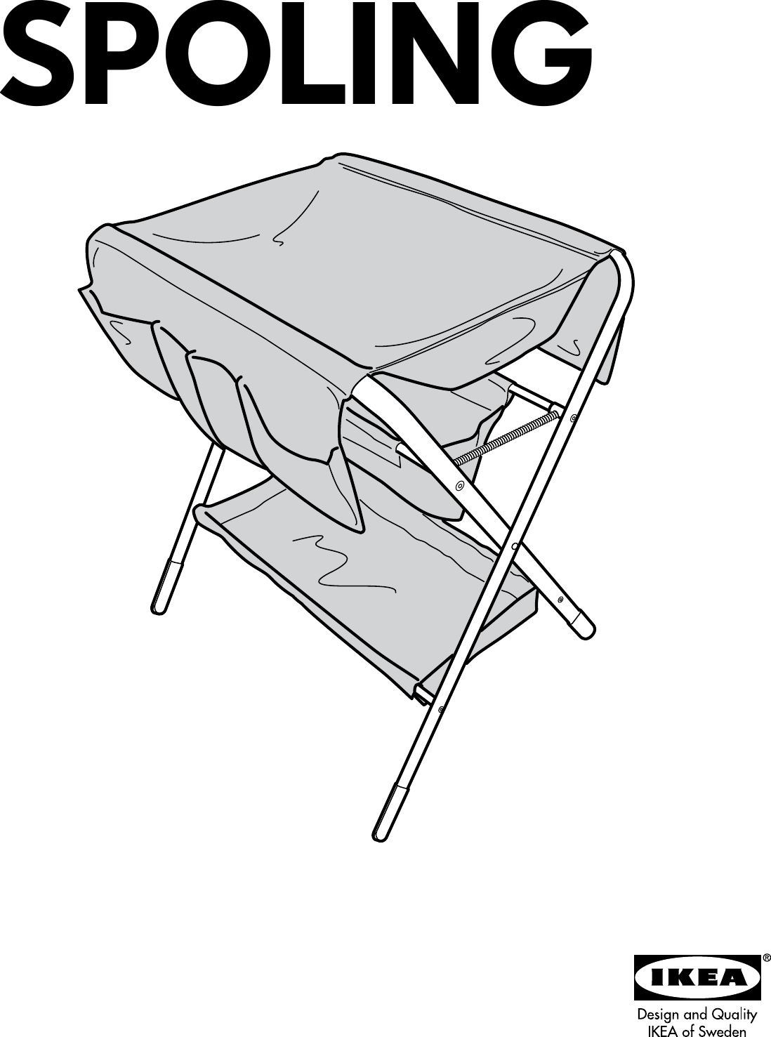 Ikea Spoling Changing Table Embly