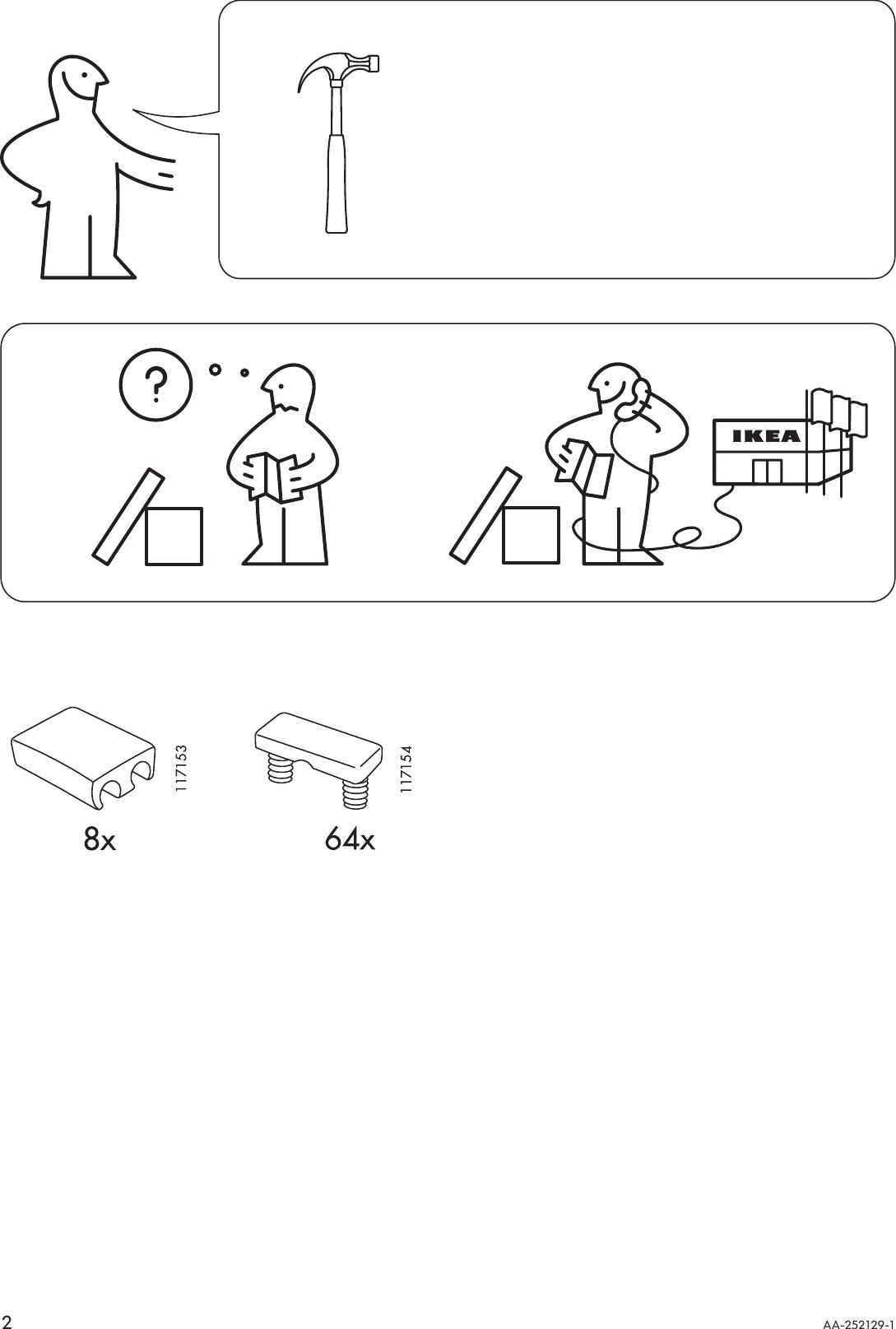 Ikea Tolga Bed Frame Assembly Instruction