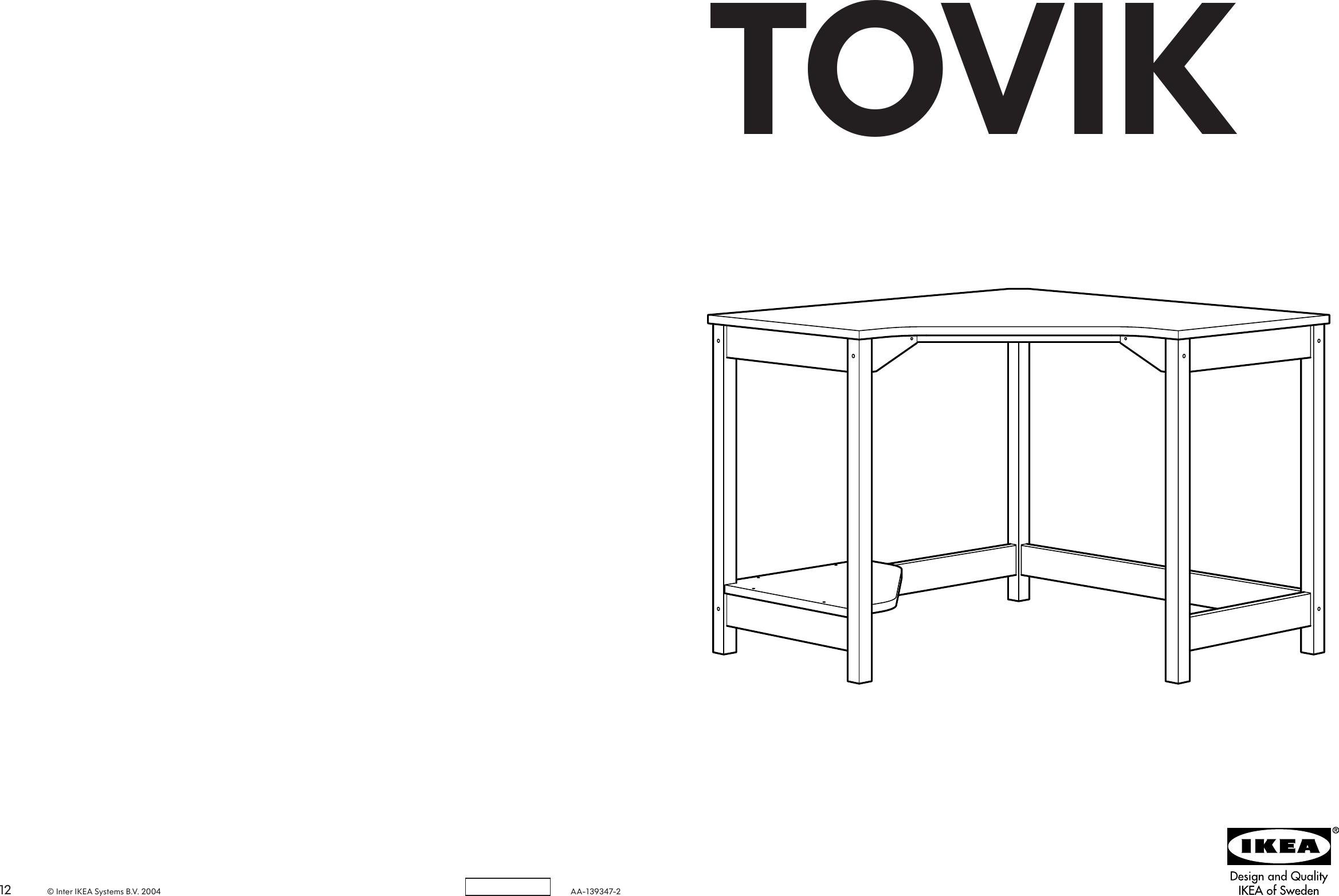 Ikea Desk Assembly Instructions Desk Ideas