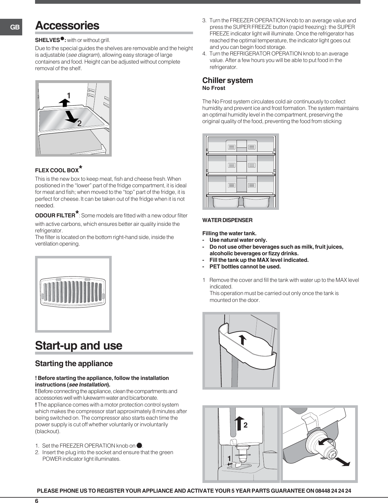 Indesit Refrigerator Ban 40 Users Manual 19508693000gb tr