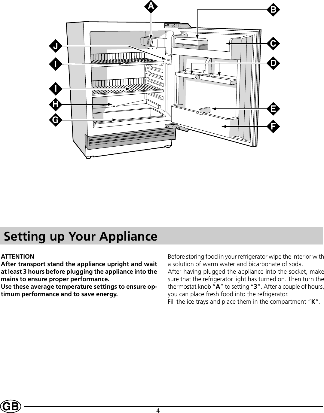 Page 6 of 12 - Indesit Indesit-Refrigerator-Gse-160-Uk-