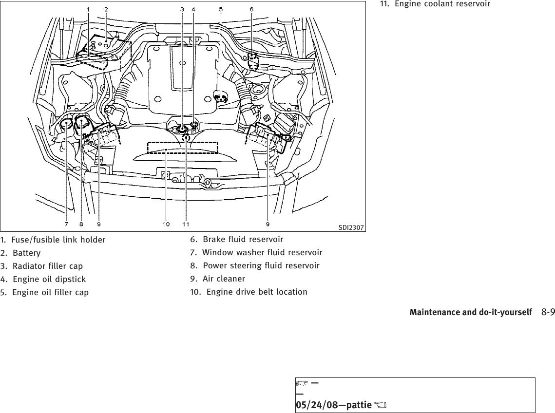 Infiniti 2009 M45 Owners Manual M45/M35 Owner's