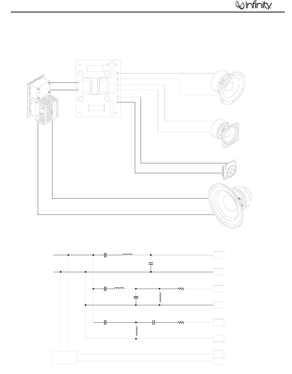 Infinity Speaker Il60 L R Users Manual The Follow Photo Shows General Crossover Circuit Used In This Pcb Wiring Diagram Network