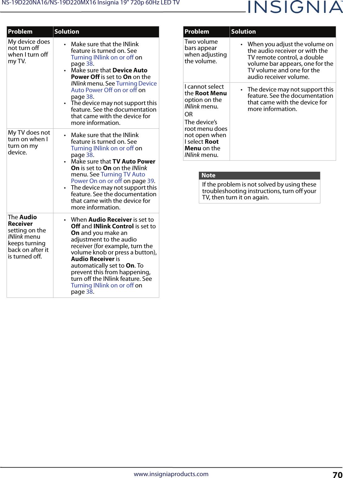 Insignia Ns 19D220Na16 User Manual 1003415 19D220MX16_15